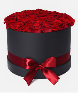 Caja de 24 rosas Premium