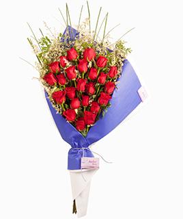 Ramo abierto de rosas