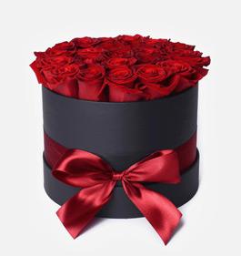 Caja de 12 rosas Premium