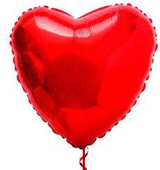 Globo Corazón Helio