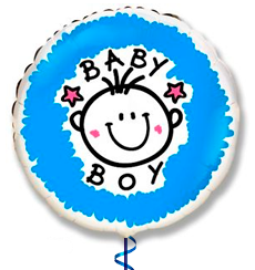 Globo Nacimiento helio nene